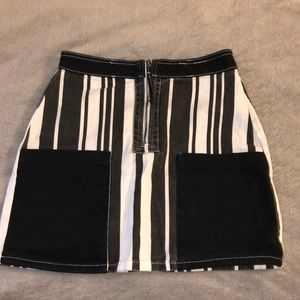 Urban outfitters BDG black and white skirt
